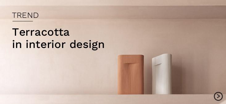 Terracotta in interior design