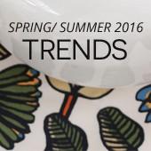 Spring/Summer 2016 - Trends